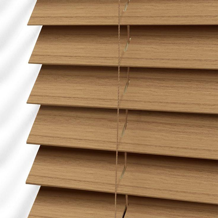 Majestic Oak Faux Wood Blind 50mm Slat In 2019 Faux Wood
