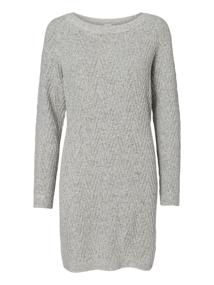 Knitted jumper dress from VERO MODA. Such a cosy winter style.