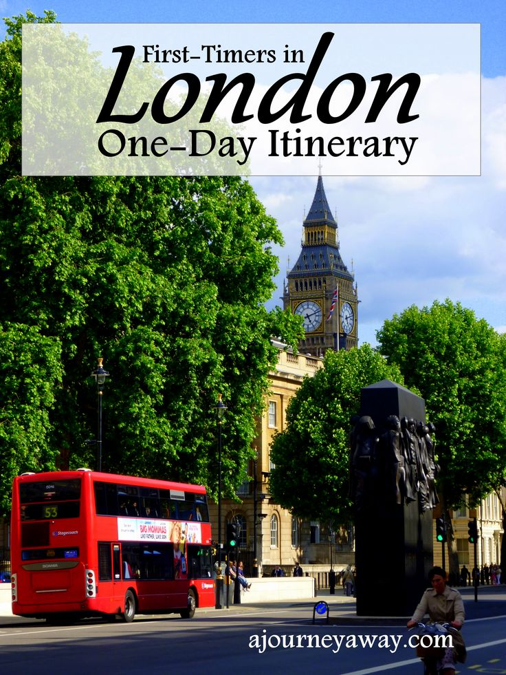 One-day itinerary in London for first-timers