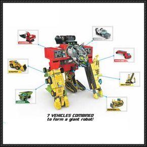 Transformers - Construction Devastator Free Paper Model Download