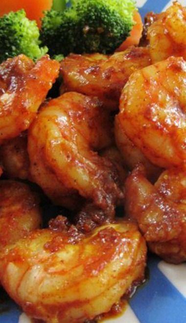 Sweet & Spicy Moroccan Shrimp