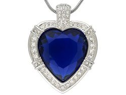 Lucile's Nobel Heart Necklace From Titanic Jewelry Collection