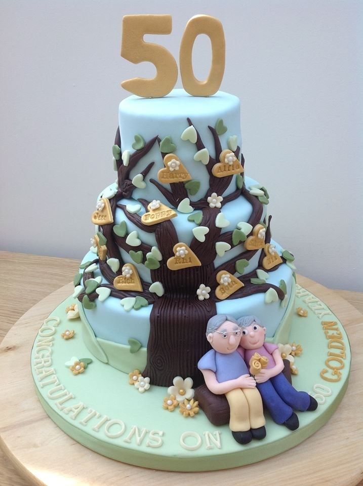 Golden Anniversary Family Tree