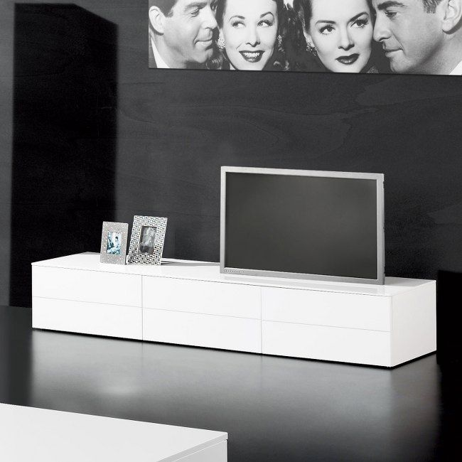 black or white furniture. stella modern high gloss tv unit black or white furniture e