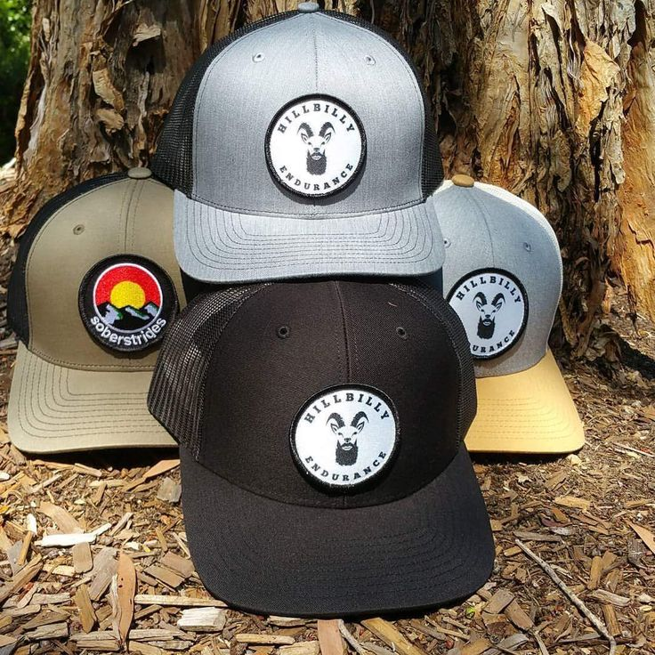 Our original style trucker caps are designed for everyday wearing by everyday people. This first offering of caps features a high-tech (well high-tech for a Hillbilly) sublimated patch on a rigid trucker.  Colour options include: The All Black, The Tri-Colour with a grey front sand brim and stone back and… The Grey and Black combo, grey front and brim with a black mesh back. www.hillbillyendurance.com.au