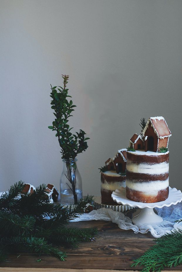 Gingerbread House Cake | If in Doubt, Bake a Cake