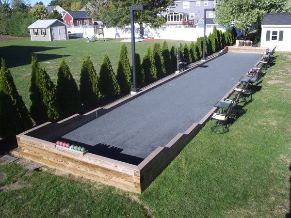 bocce ball court  Camanoochs Bocce Court  Constructivedisorder More