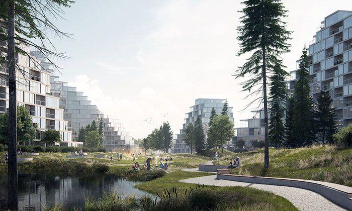 EFFEKT navrhli pro Bratislavu rezidence s tvarem hor