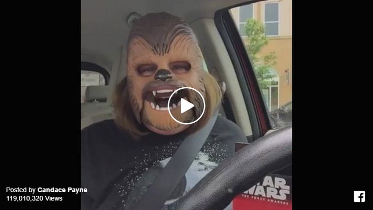 Chewbacca Mom Live Video on Facebook is the most watched video ever!