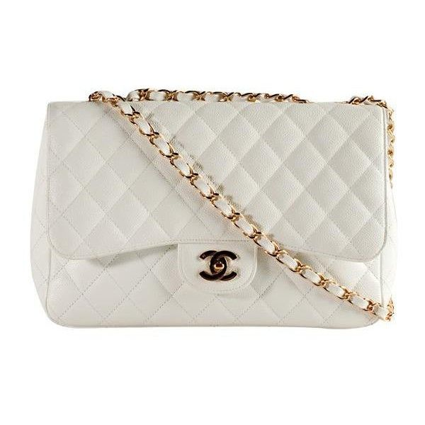 Chanel Classic 2.55 Quilted Caviar Jumbo Flap Shoulder Handbag (€135) ❤ liked on Polyvore featuring bags, handbags, shoulder bags, bolsas, purses, accessories, chanel, quilted shoulder bag, handbag purse and hand bags