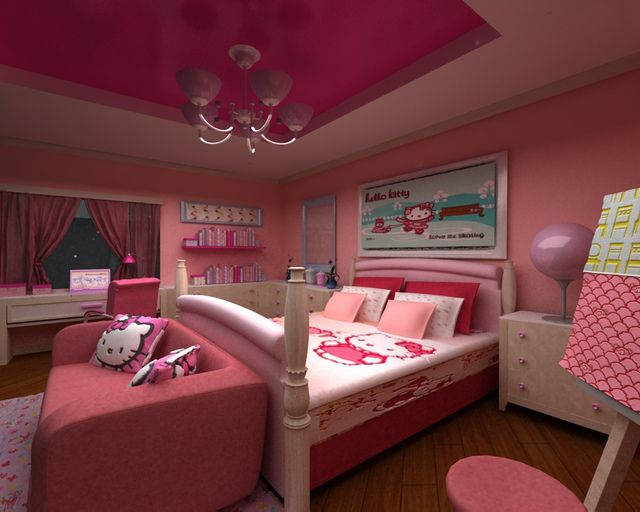 27 best images about hello kitty toddler bedding on. Black Bedroom Furniture Sets. Home Design Ideas