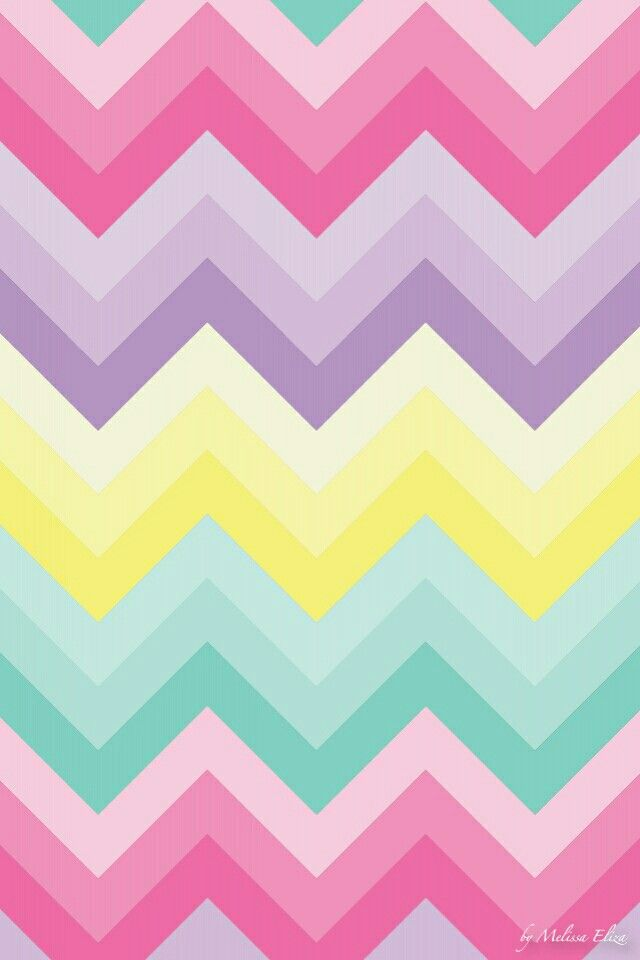 pastel chevron wallpaper - photo #2