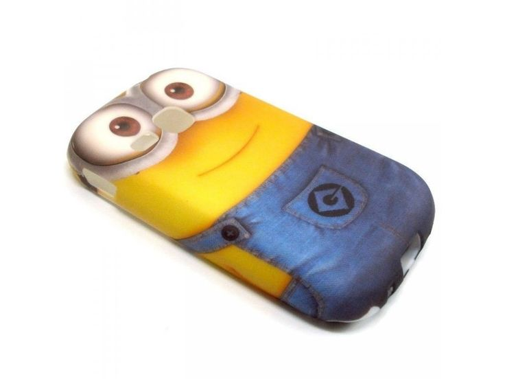Silikónový kryt (obal) pre Samsung Galaxy Young/Young Duos - mimoň (Minions Despicable me)