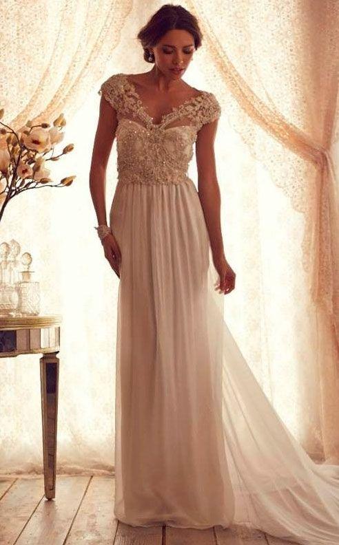 WEDDING VINTAGE Beach Wedding DressesBeach