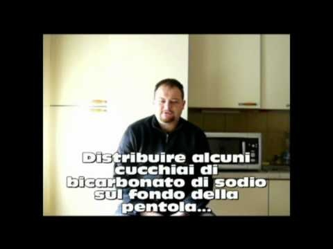 Come pulire le pentole bruciate    video @cuocopersonale   #howto   @Matteo Bellini