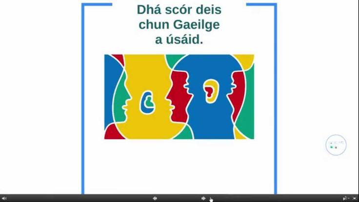 Dhá Scór bealach le Gaeilge a úsáid.. Learn Irish with FEICIM.com