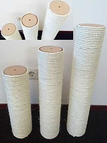 Replacement Post for Cat Scratching Posts 8 mm Diameter Thread (M8). 50LX12 CM Diameter Ersatzteile Cat Tree Scratching Post for Cat Scratching Tree. European Quality Production of Rhrquality. ** Visit the image link for more details. #CatScratchersandFur