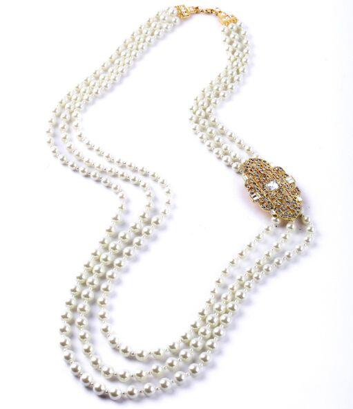 Trova altre Collane del pendente Informazioni circa Fashion brand di lusso girocollo a più strati collana di perle collare per monili delle donne del partito, Alta Qualità Collane del pendente da HD Jewelry Factory (Qingdao) su Aliexpress.com