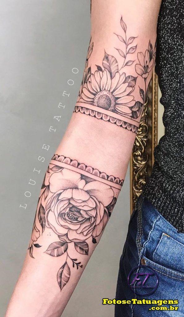 Tatuagens femininas no Antebraço As 80 melhores ideias 1