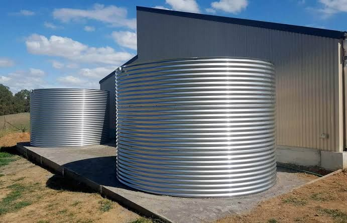 Rain Store Rain Water Tank Rainwater Steel Water Tanks