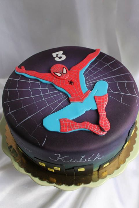best 25 cake spiderman ideas that you will like on pinterest spiderman birthday cake spider. Black Bedroom Furniture Sets. Home Design Ideas