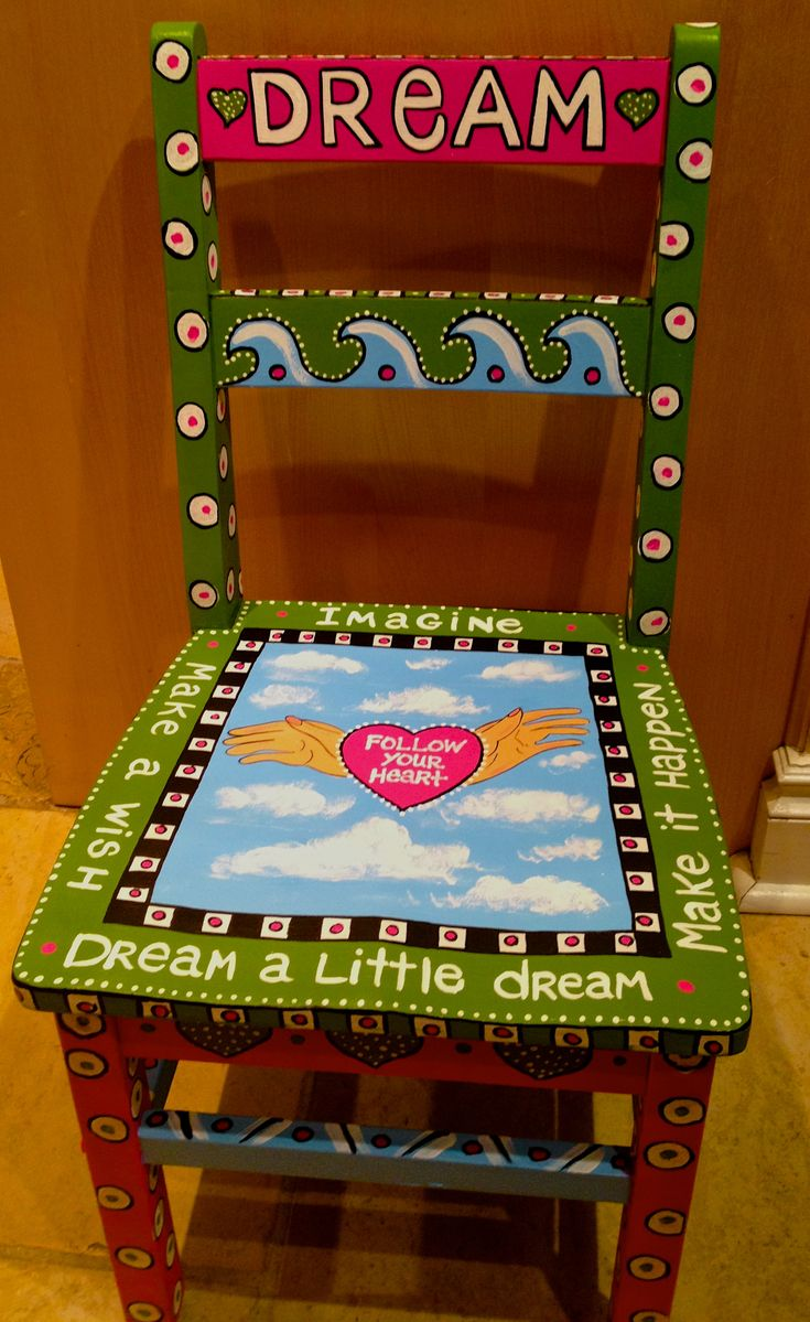 Funky painted furniture ideas - Find This Pin And More On Painting Whimsical Furniture