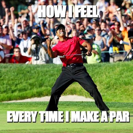 <3 EXERCISE - Golfing! ♥ GRIEF SHARE: Plantation United Methodist Church, 1001 NW 70 Avenue, Plantation, FL 33313. (954) 584-7500.  How I feel every time I actually hit the ball (work in progress)