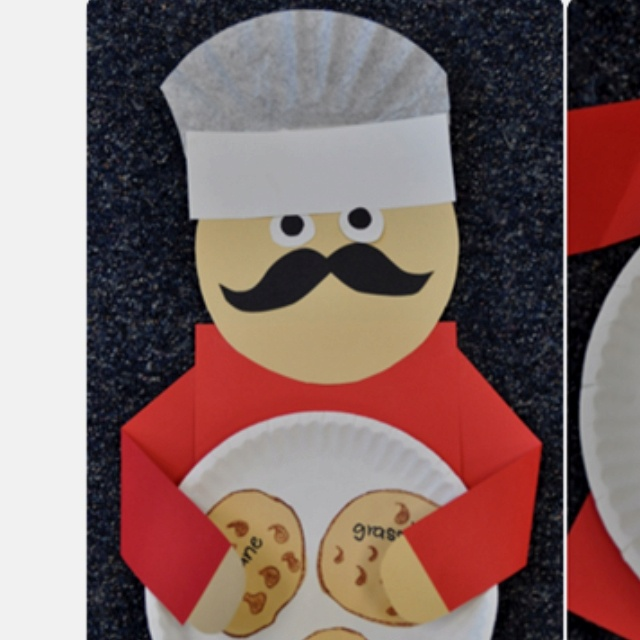 32 best images about projects to try on pinterest first for Paper chef hat craft