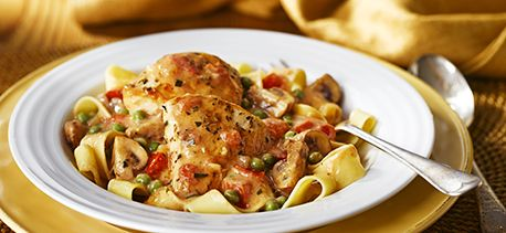 Cook with Campbells. Creamy Italian Chicken