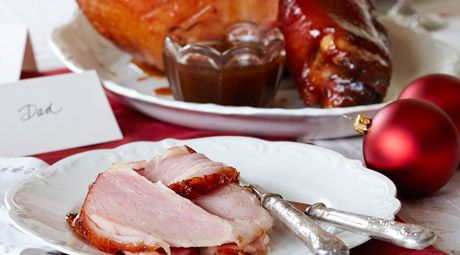 A Christmas classic, baked Ham with brown-sugar glaze. Surprisingly easy, deliciously tasty!