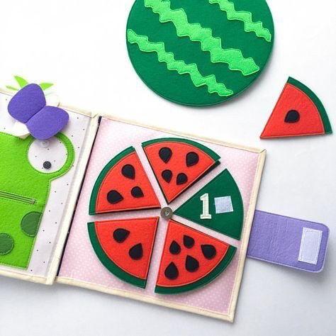 Развивающие игры из фетра | Развивающие игрушки | Фетр ...