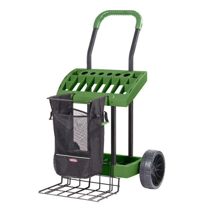 Super-Duty Lawn and Garden Tool Box on Wheels