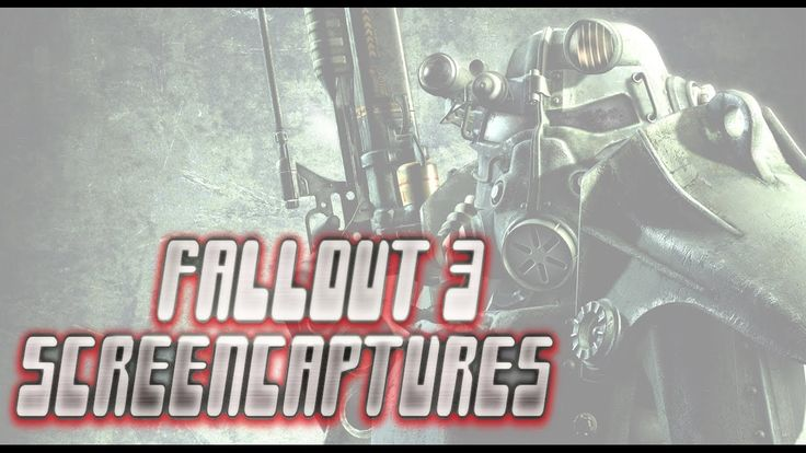 Fallout 3 Screenshot montage video