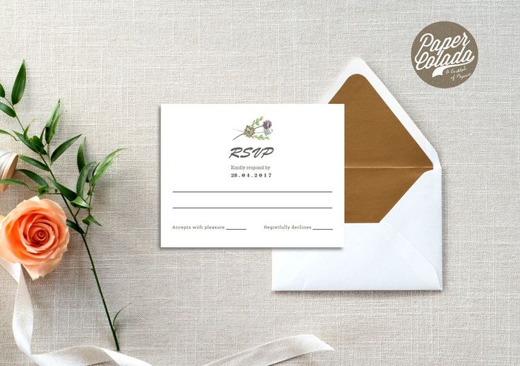 Desert Blooms Wedding Response | Printable RSVP | Greenery | Rustic Desert RSVP | Outback Bush Destination Wedding by PaperColada on Etsy