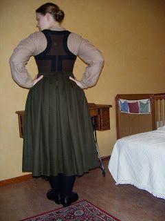 A Most Peculiar Mademoiselle: folk costume