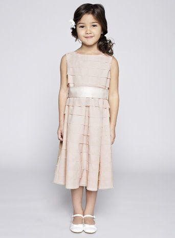 Scarlett Blush Flower Girl Dress
