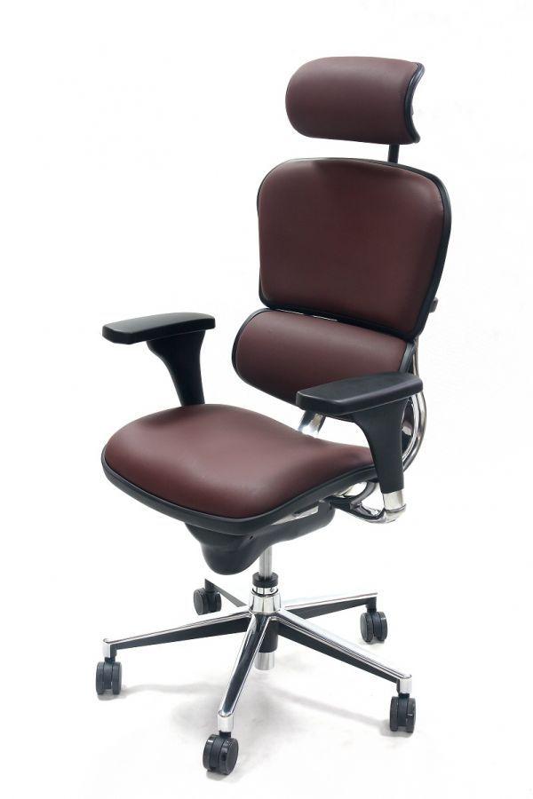 Fotel Ergomax Ergohuman - Model 2012 skóra (3)