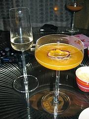 Cariel Vanilla Vodka: Porn Star Martini  Vanilla vodka martini with passion fruit, and a champagne chaser