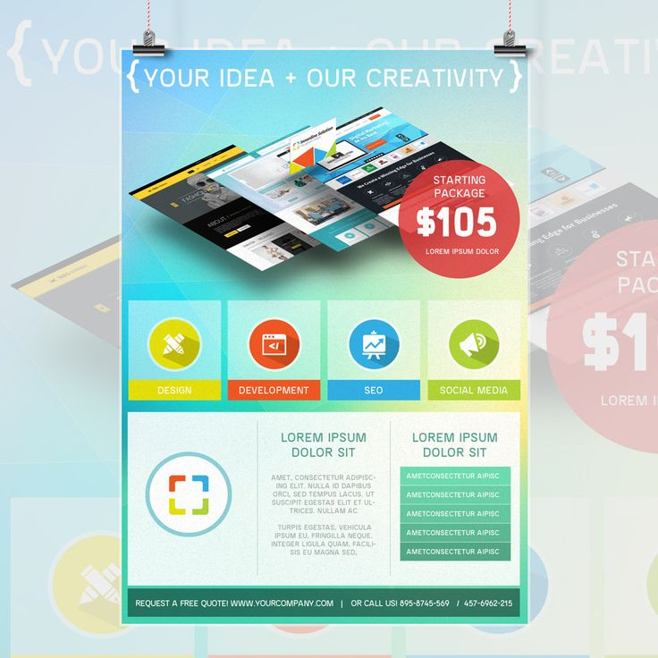 Best Flyers And Brochures Portfolio Images On