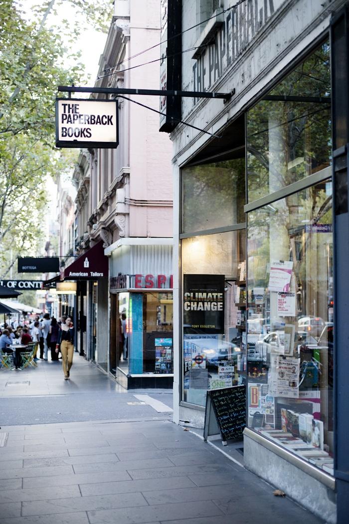 Bourke Street, Melbourne © Natasha Calhoun