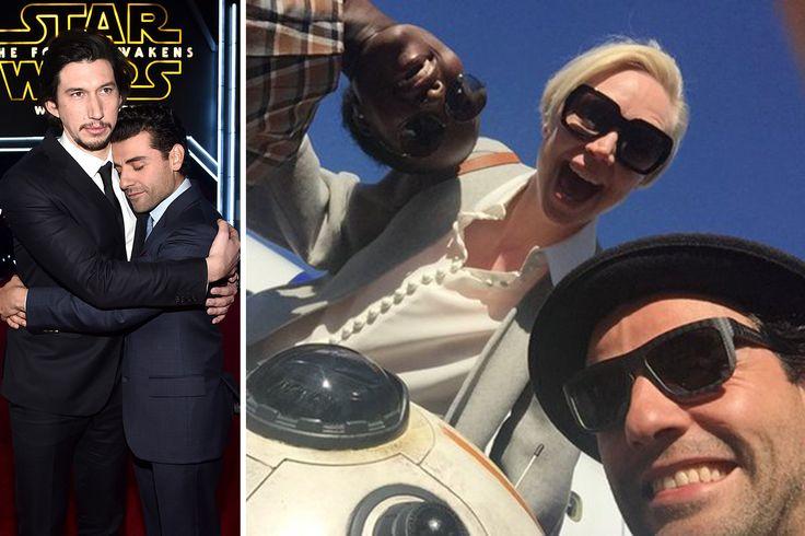 Watch Oscar Isaac Charm the Pants off Every Single Star Wars: The Force Awakens Cast Member   Vanity Fair