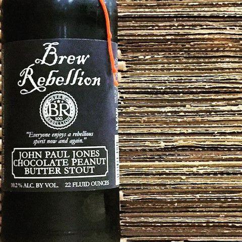 Brew Rebellion John Paul Jones Chocolate Peanut Butter Stout - Buy craft beer online from CraftShack. The Best Online Craft Beer Delivery Service!