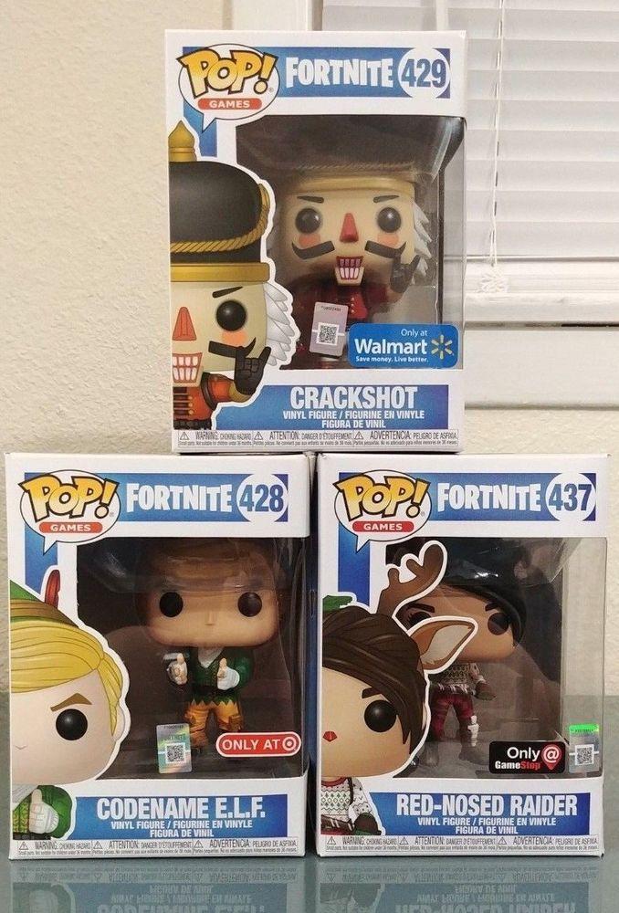 Funko Pop Fortnite Lot Set Bundle Of 3 Exclusives Walmart Target