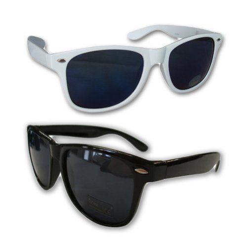 Glasses Frame Black Friday : Black Friday 2 Wayfarer Black and White Frame Dark Lenses ...