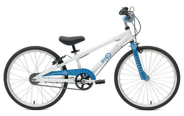 E-450x3i ByK Kids Bike with Internal Gears in Cyan Blue - for 5 to 8 Year Olds