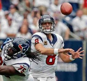 Matt schaub is finally not a houston texan he got traded to the okland raiders as a first string QB so raiders good look and matt schaub watch out for JJ WATT