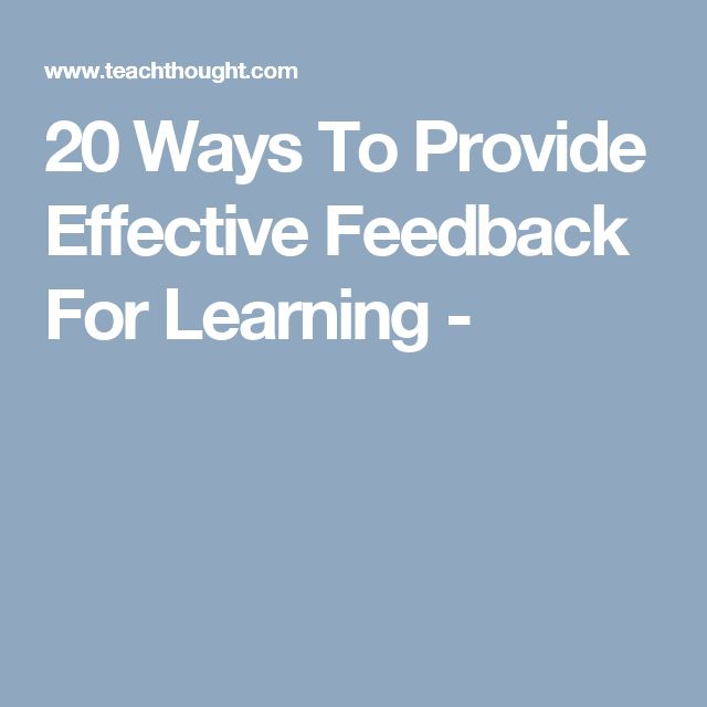 26 best Feedback images on Pinterest Teaching ideas, Classroom - different examples of formative assessment