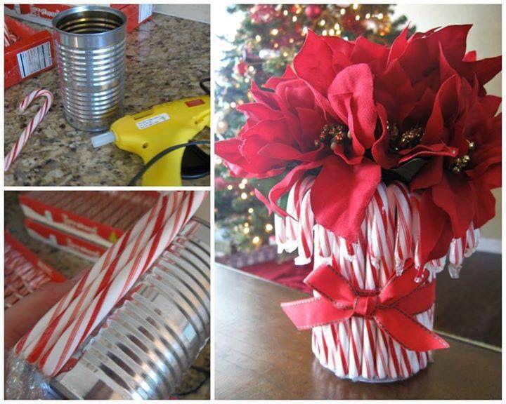 Candy cane centerpiece‼️‼️‼️ christmas