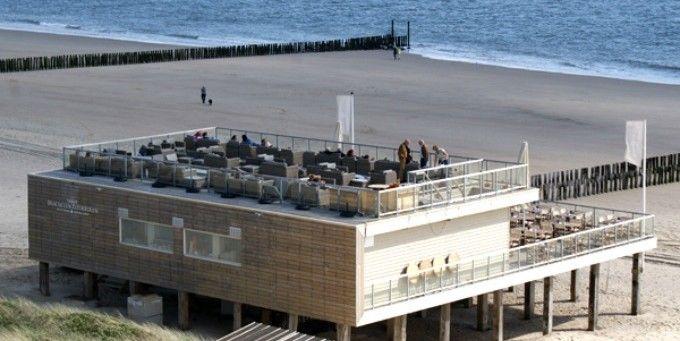 Vergaderen in superhippe beachclub op het strand!