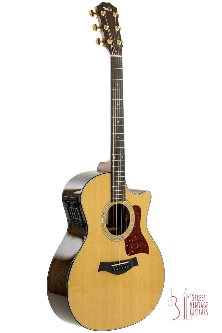 Taylor 714 Ce 1999 Natural Cedar Top And Rosewood Back And Sides Acoustic Electric Guitar Acoustic Electric Guitar
